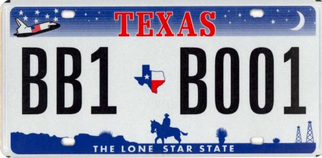 space shuttle license plate - photo #27