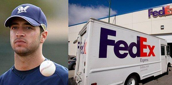 Ryan Braun FedEx
