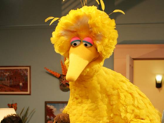 If Mitt Romney likes Big Bird, why does he want to cut PBS?