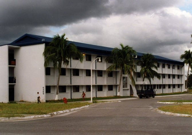 3rd CRS dormitory, Clark Air Base, Philippines (photo: Tim Tuttle)