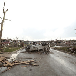 Tornado rips through Oklahoma, killing dozens of people