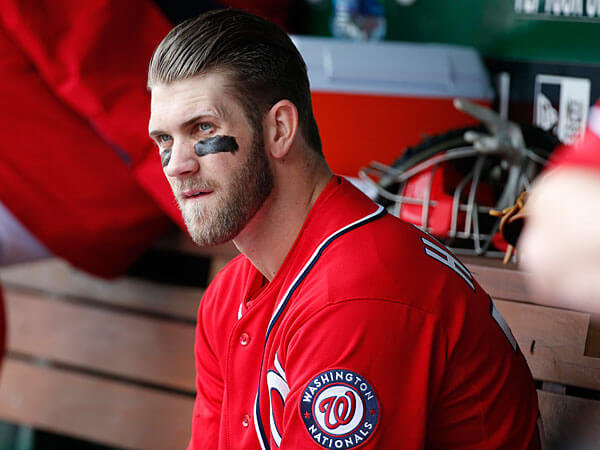 Bryce Harper benched for being Bryce Harper