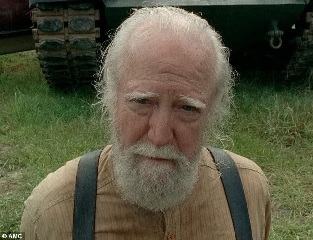 Why wasn't Scott Wilson from 'The Walking Dead' nominated for an Emmy?