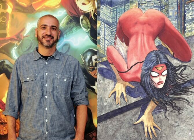 Marvel Editor-in-Chief Axel Alonso answers criticism of Spider-Woman #1 variant cover