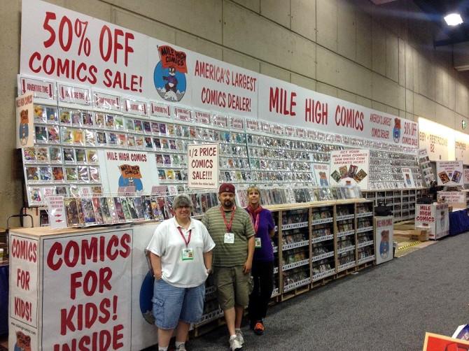 Mile High Comics at the 2014 San Diego Comic-Con