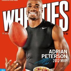 Adrian Peterson wheaties