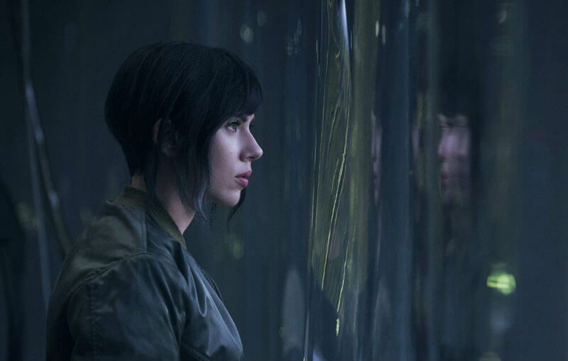 Scarlet Johansson in 'Ghost in the Shell'