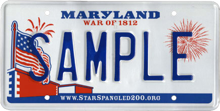 Maryland_Passenger_Sample_License_Plate_2010