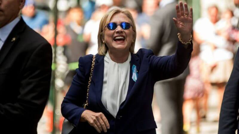 Hillary Clinton is down with the pneumonia