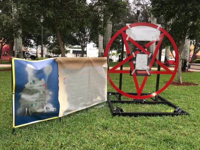 Christmas Satanic symbol causes outrage - Bent Corner