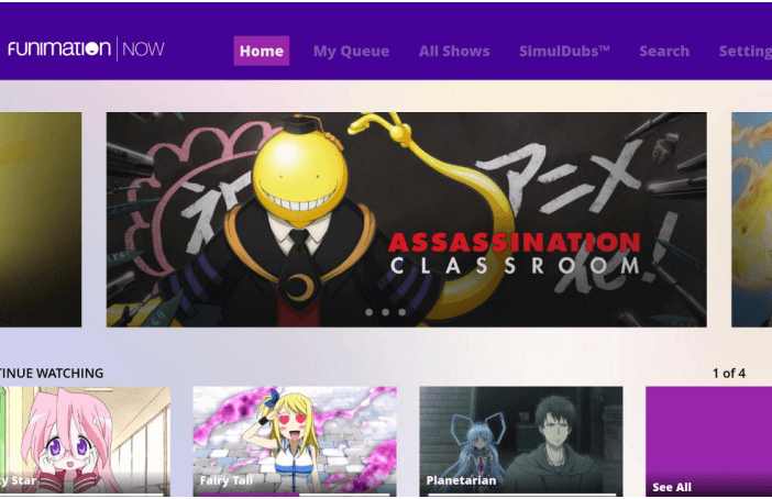 Funimation Roku app will not allow streaming of TV-MA programing - Bent Corner