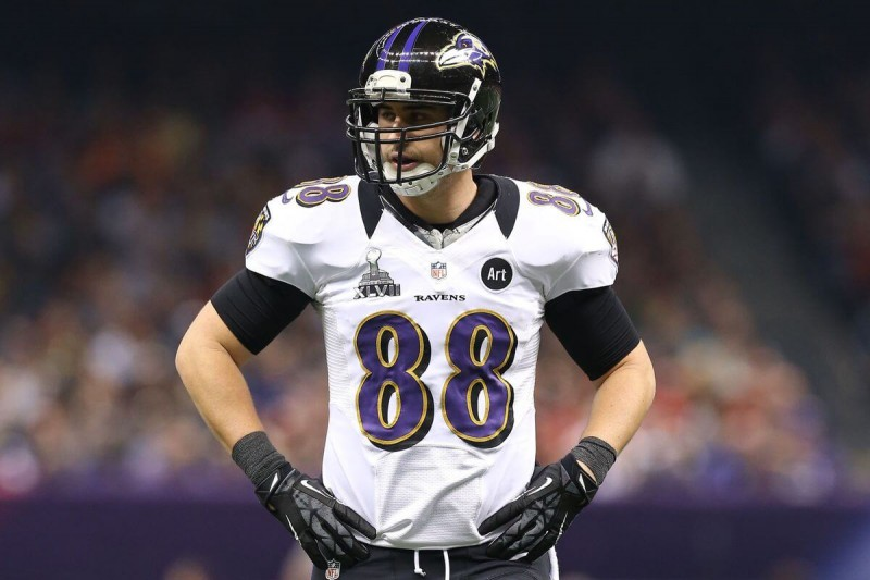 Ravens release tight end Dennis Pitta