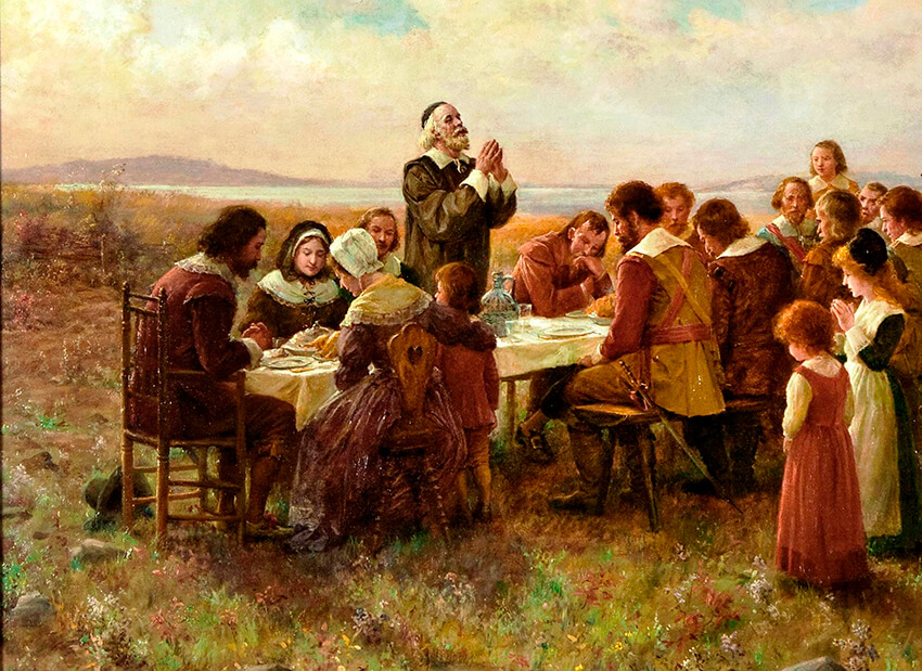 The truth behind the first Thanksgiving - BENT CORNER