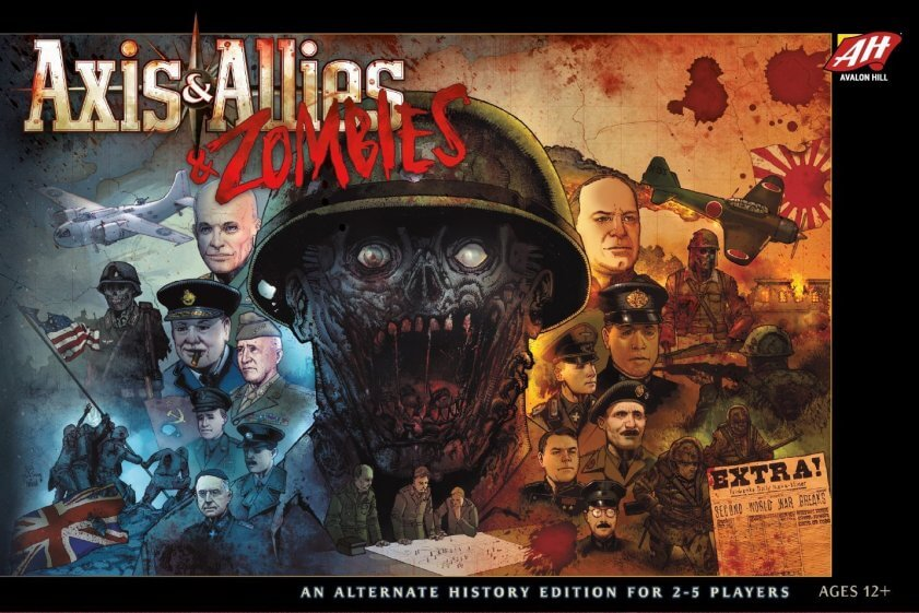 'Axis & Allies & Zombies', a board game for 2-5 players - Bent Corner