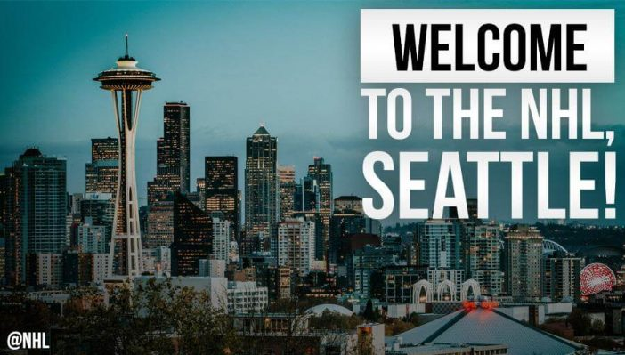 Seattle is getting an NHL team for the 2021-22 season - Bent Corner