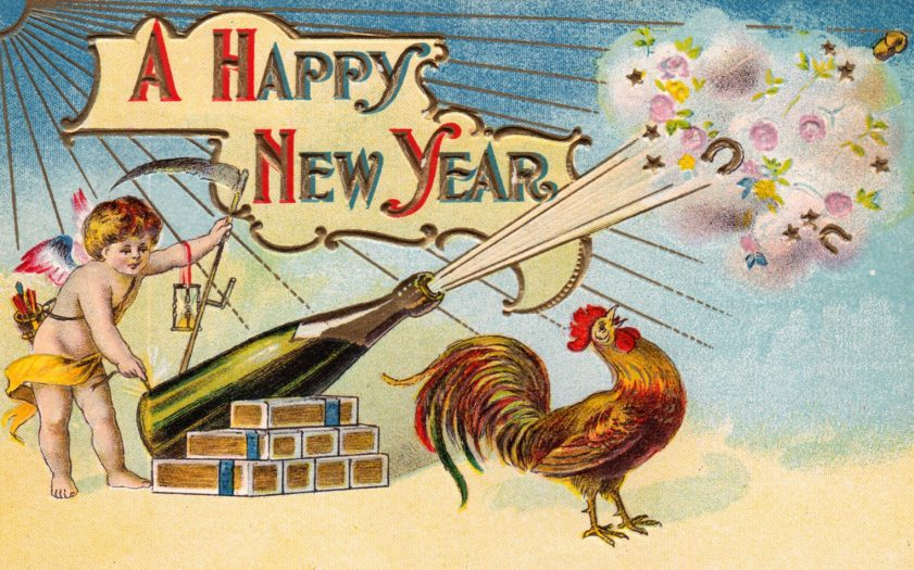 Happy New Year to you and your people - Bent Corner