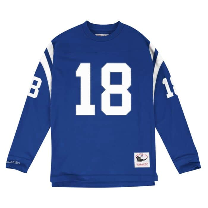 My new authentic Mitchell & Ness football jersey
