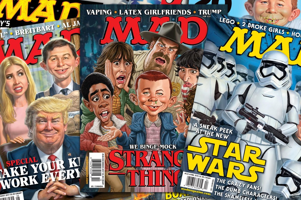 'Mad Magazine' 1952 - 2019 - Bent Corner