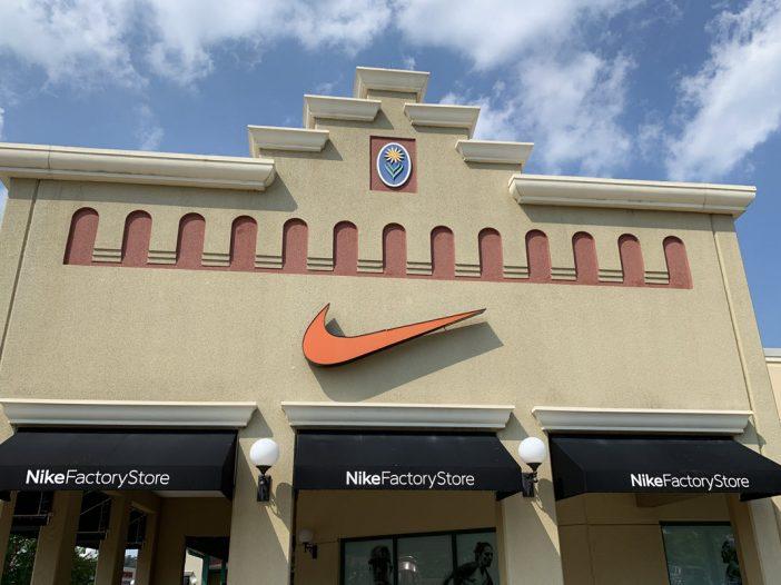 Hagerstown's Nike Factory Store 1998 - 2019 - Bent Corner