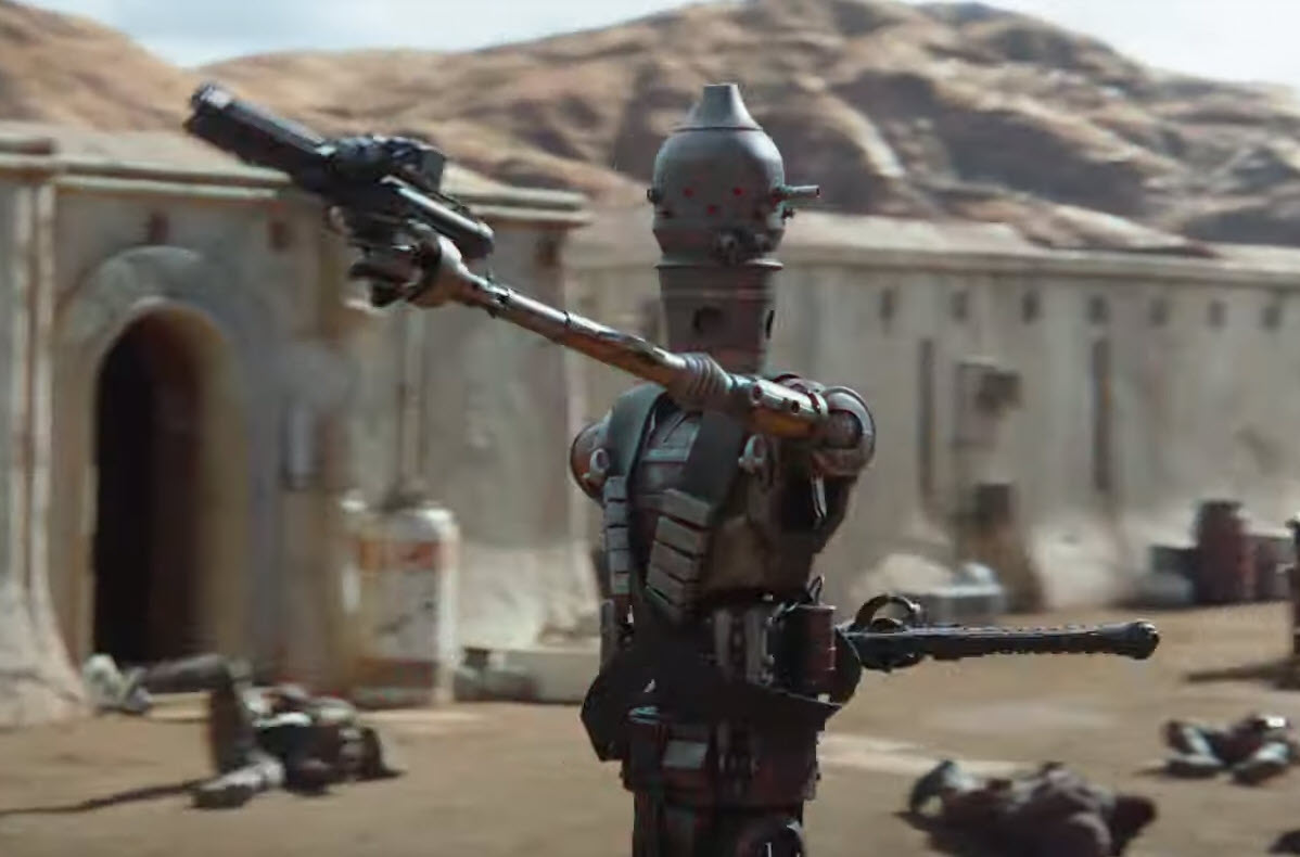 Disney releases trailer for 'The Mandalorian' - Bent Corner