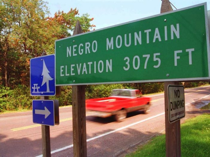 Maryland finally removes signs referring to 'Negro Mountain' - Bent Corner