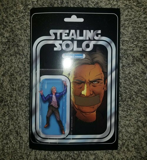 'Stealing Solo' is now on eBay with a starting bid of $50 - Bent Corner