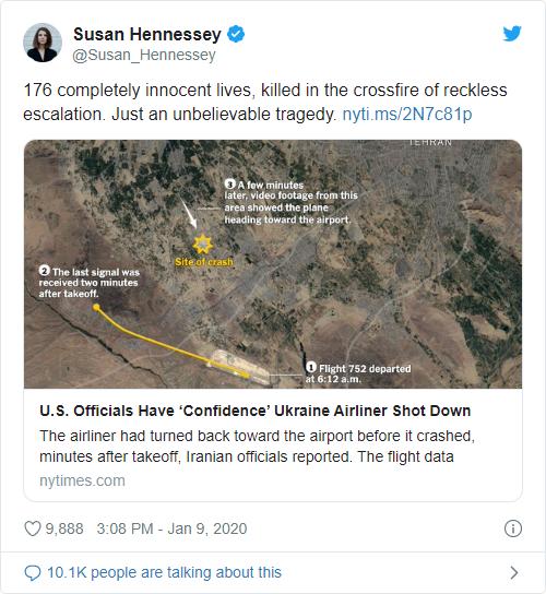 Iran finally admits it shot down a civilian airliner - Bent Corner