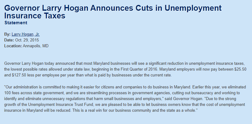 Maryland's broken unemployment insurance system - BENT CORNER