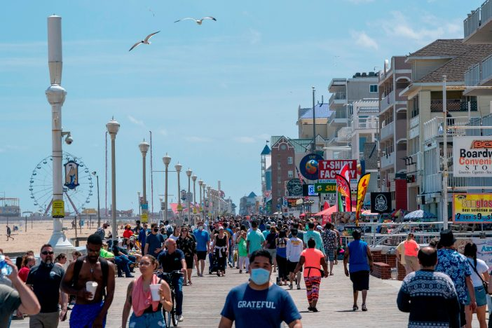 People flock to Ocean City to better spread COVID-19 - BENT CORNER