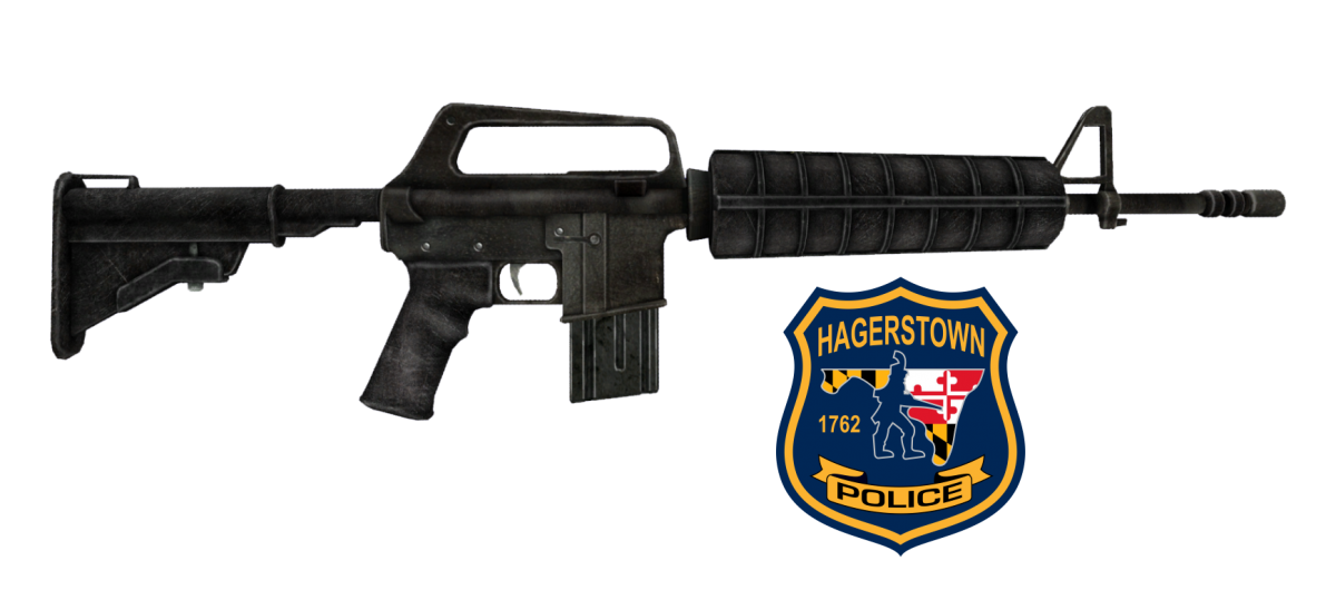 Why does the Hagerstown Police Department need 33 AR-15 rifles? - BENT CORNER