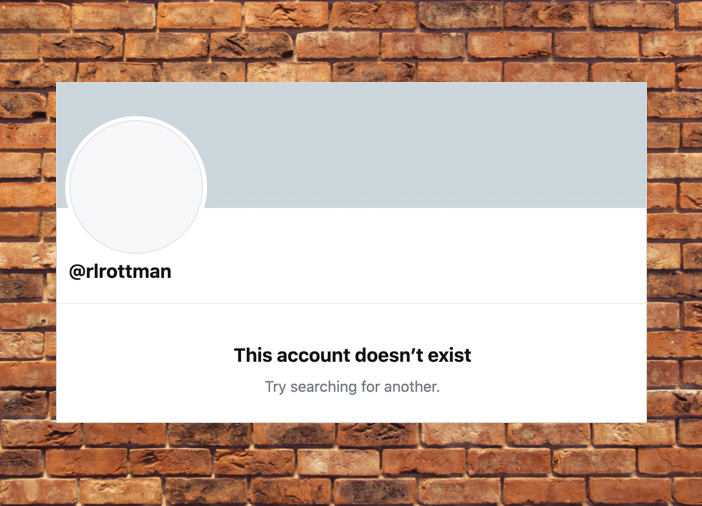 I have deactivated my Twitter account
