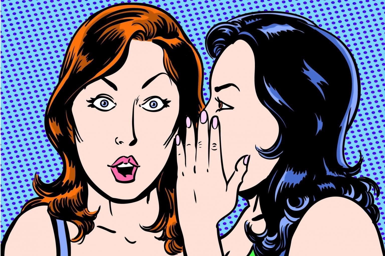 There is a super secret female whisper network in comics!