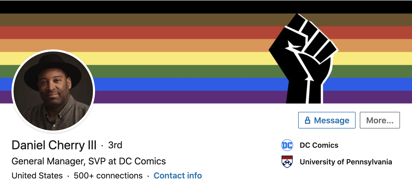 DC hires Daniel Cherry as general manager, comics are doomed