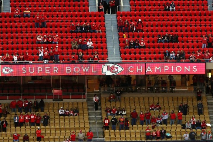 Kansas City Chiefs fans boo fake unity - Bent Corner