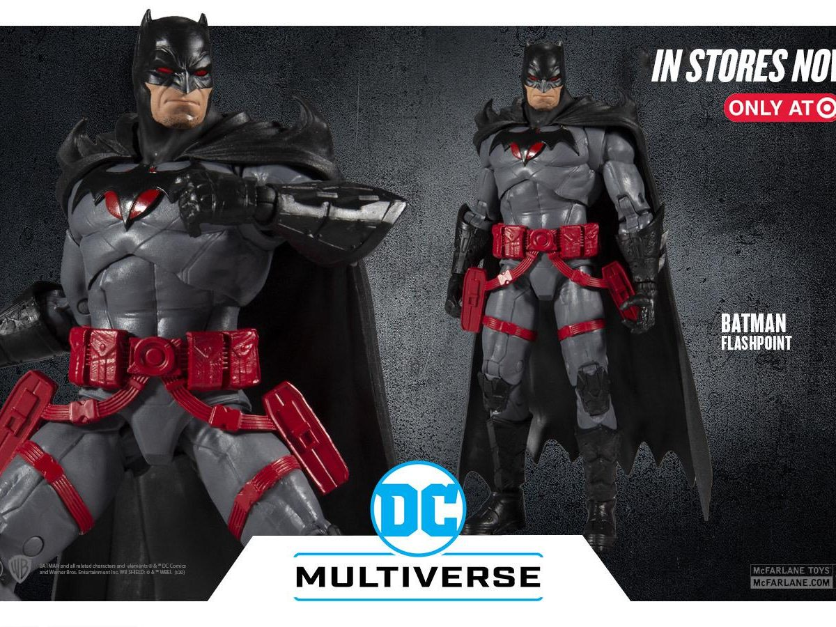 McFarlane Toys Batman Flashpoint figure is NOT in stores now