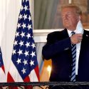 Donald Trump tells people not to be afraid of COVID-19