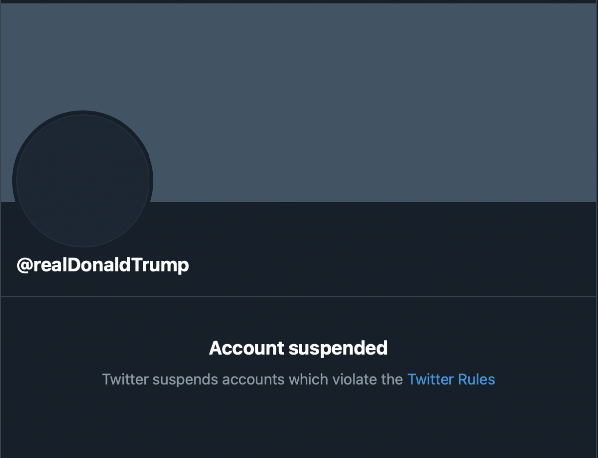 Donald Trump permanently banned from Twitter - Bent Corner