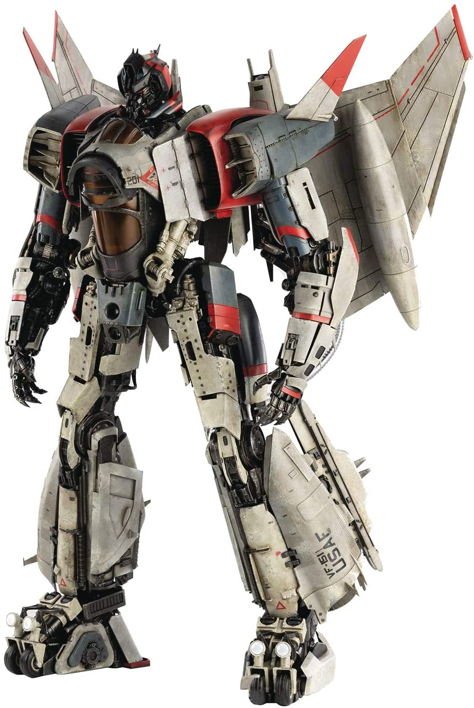 The Blitzwing premium figure from the Transformers 'Bumblebee' movie - Bent Corner