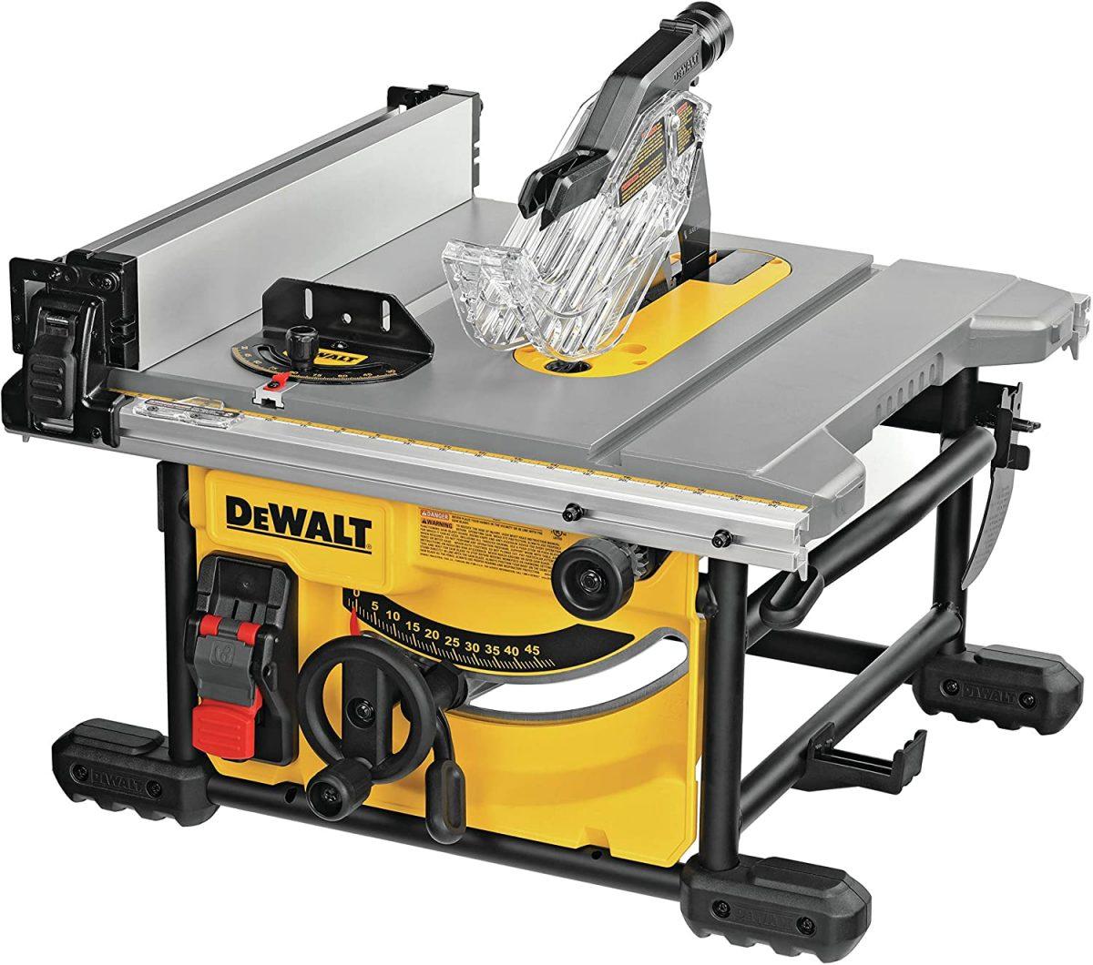 DeWalt 8-1/4-inch compact table saw