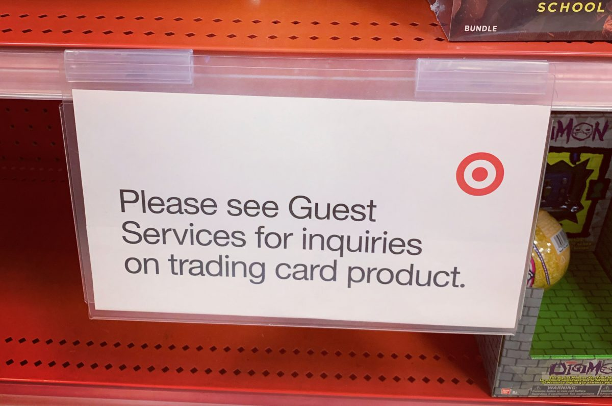 Target to stop selling MLB, NFL, NBA, and Pokémon cards