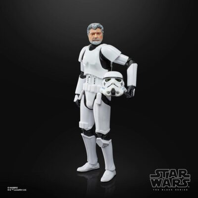 George Lucas gets turned into a 6-inch stormtrooper – Bent Corner