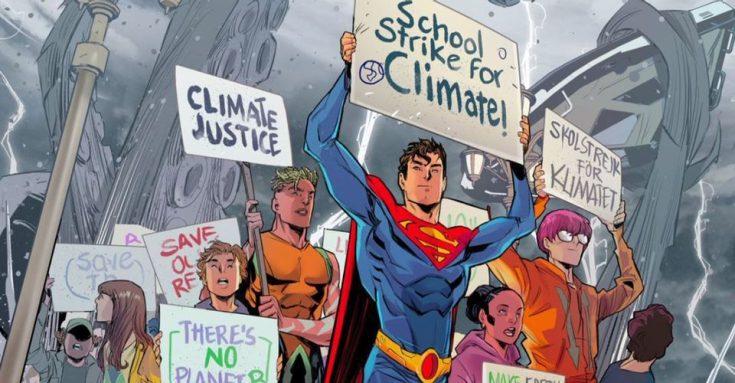 Bisexual Superman leads a school strike against climate change – Bent Corner